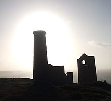 Lost Halos....Wheal Coates, Cornwall. by greenstone