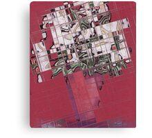 Cubismic Lillies Canvas Print