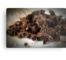 Textured Spice Metal Print