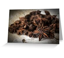 Textured Spice Greeting Card