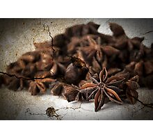 Textured Spice Photographic Print