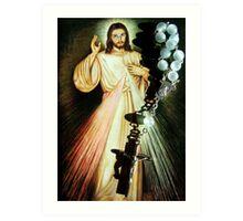 For the love of Jesus Art Print