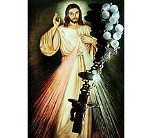 For the love of Jesus Photographic Print