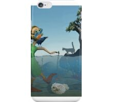 Some Days You're Just Up To Your Waist in It! iPhone Case/Skin
