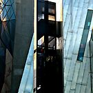 melbourne's Federation square building by geof