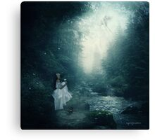 You're Gone...and I'm Haunted... Canvas Print