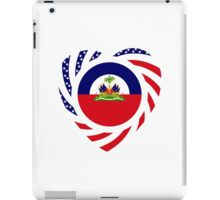 Haitian American Multinational Patriot Flag Series 2.0 iPad Case/Skin