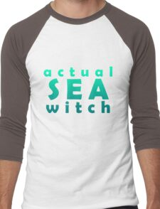Actual Sea Witch Ursula Tee Men's Baseball ¾ T-Shirt