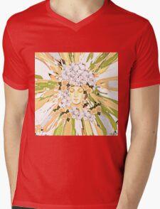 The Flower Girl Mens V-Neck T-Shirt