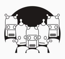 Robots One Piece - Short Sleeve