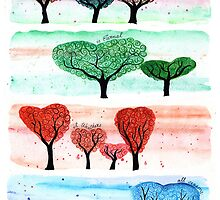 Love in Four Seasons by klbailey