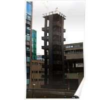 Barbican fire tower Poster
