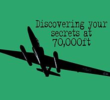 Discovering your secrets at 70,000ft by #fftw by Tim Constable