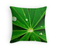 Dew Drops. Throw Pillow