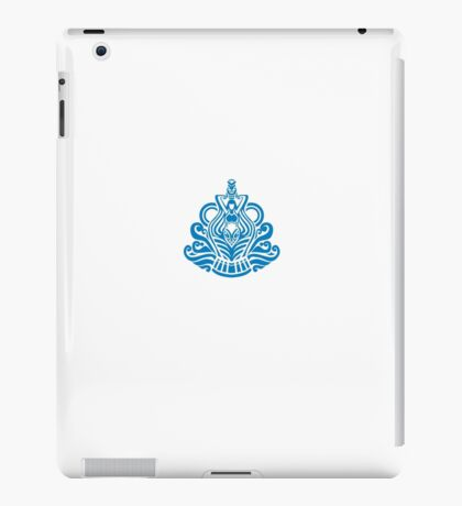 Zodiac Sign Aquarius Blue iPad Case/Skin
