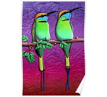 Green Bee-Eaters Poster