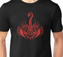 Zodiac Sign Scorpio Red Unisex T-Shirt