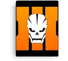 Call of Duty Black Ops 3 - Black Operations  Canvas Print