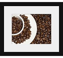 Coffee circles Photographic Print