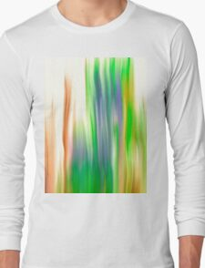 The Beautiful Veil Oil Painting Abstract Long Sleeve T-Shirt
