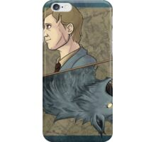 Remus Lupin Playing Card iPhone Case/Skin