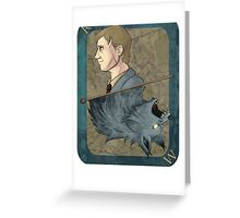 Remus Lupin Playing Card Greeting Card