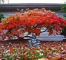 Buddah Under A Red Canopy by NeNe55