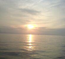 sunset from tanjung pasir by yanyan nurdiansyah