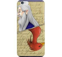 Albus Dumbledore Playing Card iPhone Case/Skin