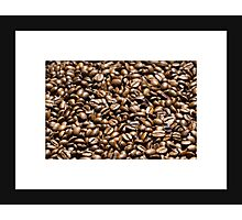 Coffee background Photographic Print