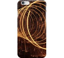 Abstract Light Painting 1 iPhone Case/Skin