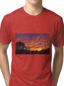 """""""Burning Sky"""" Tri-blend T-Shirt"""