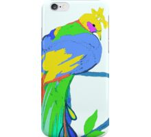 Spring Peacock Tropical iPhone Case/Skin