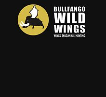 Bullfango Wild Wings - Wings, Tanzian Ale, Hunting Unisex T-Shirt
