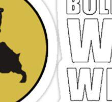 Bullfango Wild Wings - Wings, Tanzian Ale, Hunting Sticker