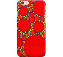 Random Tiling Red iPhone Case/Skin
