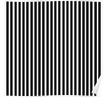 Black And White Stripes Poster