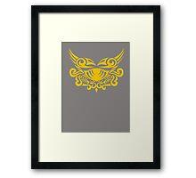 Zodiac Sign Cancer Gold Framed Print