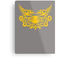 Zodiac Sign Cancer Gold Metal Print