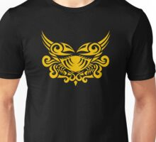 Zodiac Sign Cancer Gold Unisex T-Shirt