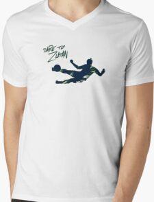 DARE TO ZLATAN 2 Mens V-Neck T-Shirt