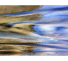 Seashore Photo Acuarela Photographic Print