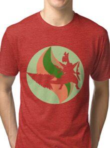 Mega Charm Mega Sceptile Tri-blend T-Shirt