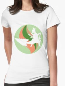 Mega Charm Mega Sceptile Womens Fitted T-Shirt
