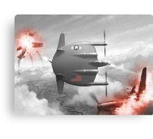 Flying flapjack Canvas Print