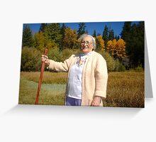 Happy birthday Vickie, Mom Greeting Card