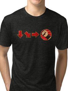 hadouken -  Ken Tri-blend T-Shirt