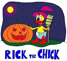 "Rick the chick ""HALLOWEEN"" Photographic Print"