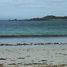 Waves On A Hebridean Shore - Bostadh Beach by MidnightMelody