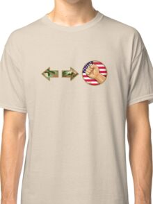 sonic boom - Guile Classic T-Shirt